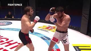 Highlights: Александр Грозин — Мухаммед Эминов   Fight Nights Global   MMA