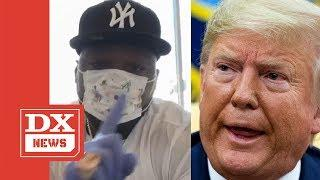 50 Cent Sends Shots At Donald Trump On Instagram