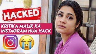 Kritika Malik Ka Instagram Hua Hack
