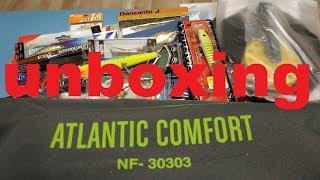 Unboxing посылки c самонадувающимся ковриком и приманками от интернет магазина Fmagazin