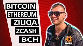 Биткоин обзор. Анализ криптовалют ethereum, bitcoin cash, ziliqa, zcash