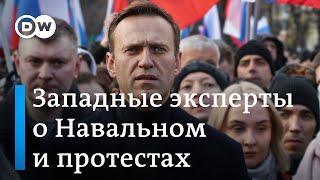 Что говорят на Западе о несанкционированном митинге в поддержку Навального