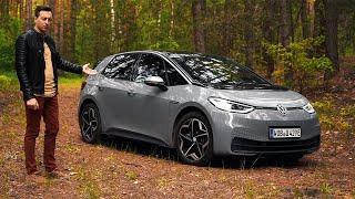 Будущее НАСТУПИЛО! Фольксваген, который хочет превзойти Тесла. VW ID3 в России!