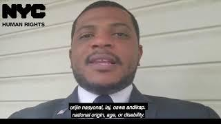 Franck D. Joseph, Deputy Commissioner for Community Relations, shares a message on COVID-19 stigma