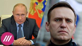 Кремль молчит по поводу расследования отравления Навального. Почему? // Дождь