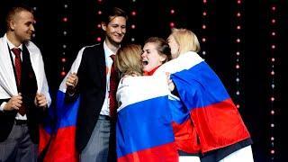 Российская команда выиграла почти 30 медалей EUROSKILLS