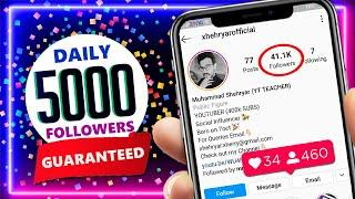 GET 5000 FREE INSTAGRAM FOLLOWERS - HOW TO INCREASE INSTAGRAM FOLLOWERS 2020 - INSTAGRAM FOLLOWERS
