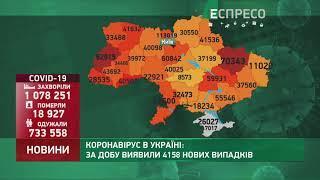 Коронавірус в Україні: статистика за 4 січня