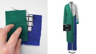 КАК СОЧЕТАТЬ ТКАНИ ☝ идеи для гардероба своими руками от интернет-магазина ТКАНИ.EXPERT