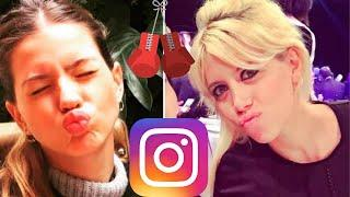 A quién le midió más el escandalete en Instagram ¿a Wanda Nara o a La China Suárez?