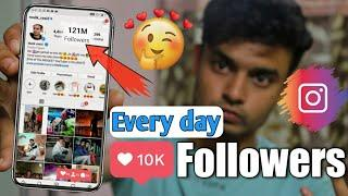 How to get Followers on INSTAGRAM 2020 | 1 click increase 1000 INSTAGRAM FOLLOWERS  | Auto FOLLOWERS