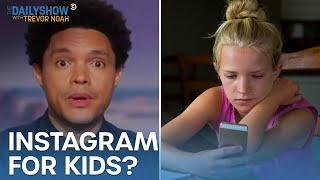 Instagram for Kids Is on Pause & This Hamster Makes Genius Crypto Choices | The Daily Show