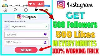 How To Gain Real Active Instagram Followers And Instagram Likes | Instagram Followers and Likes