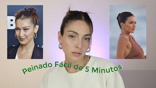 Peinado de Modelo de Instagram en 5 minutos | Anna Sarelly