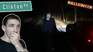 Halloween on CLINTON ROAD... *CHASED By Instagram Stalker*
