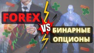 Forex или Бинарные опционы? Плюсы и минусы! | трейдинг