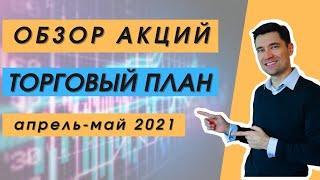 Лучшие акции для покупки в мае 2021. Инвестиционный портфель