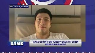 The Game | Isaac Go Shares Game Experience vs  Serbia