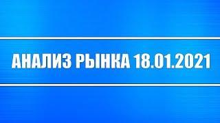 Анализ рынка 18.01.2021 + Навальный + Нефть + Байден + Акции России + Рубль + Доллар + ФРС США