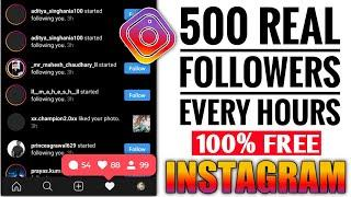 How to increase real Instagram followers||Instagram par followers kaise badhaye||Instagram auto
