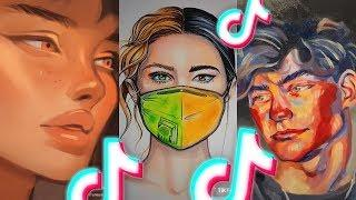 tik tok art you will not regret wasting your time watching