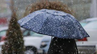 Первый снег в Казахстане. Погода в СНГ