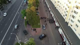 Милиция против акции солидарности в Бресте 14.07.2020