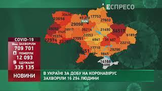 Коронавірус в Україні: статистика за 28 листопада