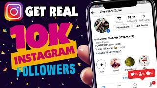HOW TO INCREASE INSTAGRAM FOLLOWERS (2020) | GET REAL FOLLOWERS ON INSTAGRAM | INSTAGRAM LIKES