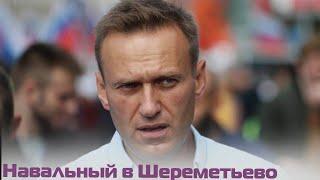 Алексей Навальный приземлился в Шереметьево