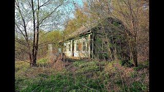 Покинутый Хутор в Лесу. Никого, только природа и брошенные дома