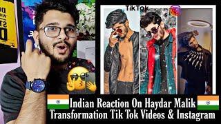 His Transformation Tik Tok Are Amazing | Haydar Malik Tik Tok & Instagram Profile Reaction