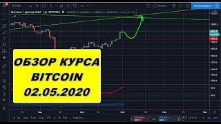 Прогноз курса криптовалют BTC Bitcoin Биткоин 02.05.2020
