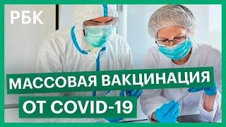 Массовую вакцинацию от COVID-19 планируют начать в начале 2021 года
