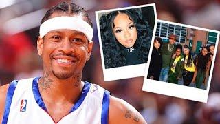 Allen Iverson Shares Photo With All Her Kids, Just Wait Till You See Their Kids Are All Grown Up!