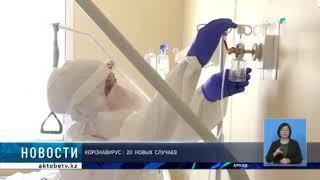 Коронавирус: 20  новых  случаев