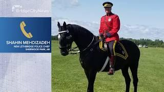 Mehdizadeh shares his plan as new Lethbridge Police Chief - June 30, 2020 - Naveen Day