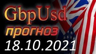 Курс фунта Gbp Usd Прогноз форекс 18.10.2021. Forex. Трейдинг - британский фунт стерлингов.
