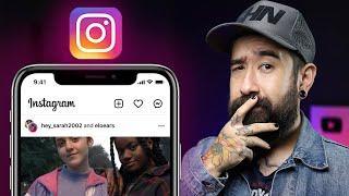 Função ÓTIMA de PARCERIAS no Instagram