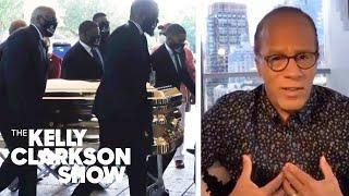 Lester Holt Shares Most Powerful Moment From George Floyd's Funeral