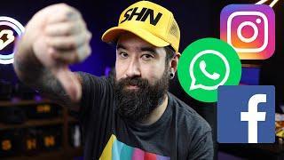 Caiu tudo! Instagram, WhatsApp, Messenger, Facebook...