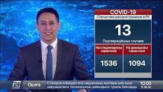 Число зараженных коронавирусом в Казахстане увеличилось до 13