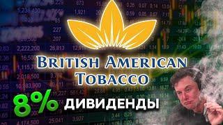 Акции табачных компаний. British American Tobacco акции. Дивидендный портфель.