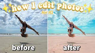 how I edit my instagram photos! *quick & easy*