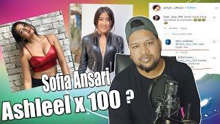 Sofia Ansari Ashleel x 100    Sofia Ansari Instagram Reels Roast @Shivamsingh Rajput    BBJ