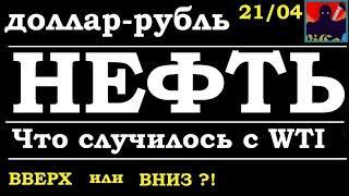 Нефть, доллар, рубль - куда дальше ? Что случилось с WTI ? Трейдинг