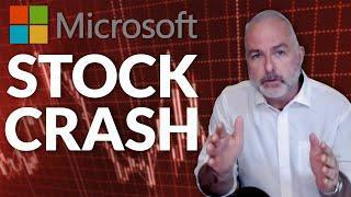 Microsoft Shares Will Crash 30% This Year
