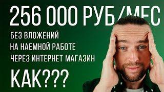 Как открыть интернет магазин: заработала 256 000 руб без вложений на наемной работе