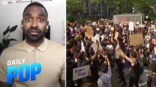 Justin Sylvester Shares His Peaceful Protest Experience | Daily Pop | E! News