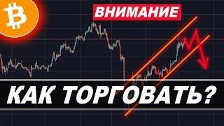 Криптовалюта Биткоин ПРОГНОЗ — РЫНОК РАЗВЕРНУЛСЯ!